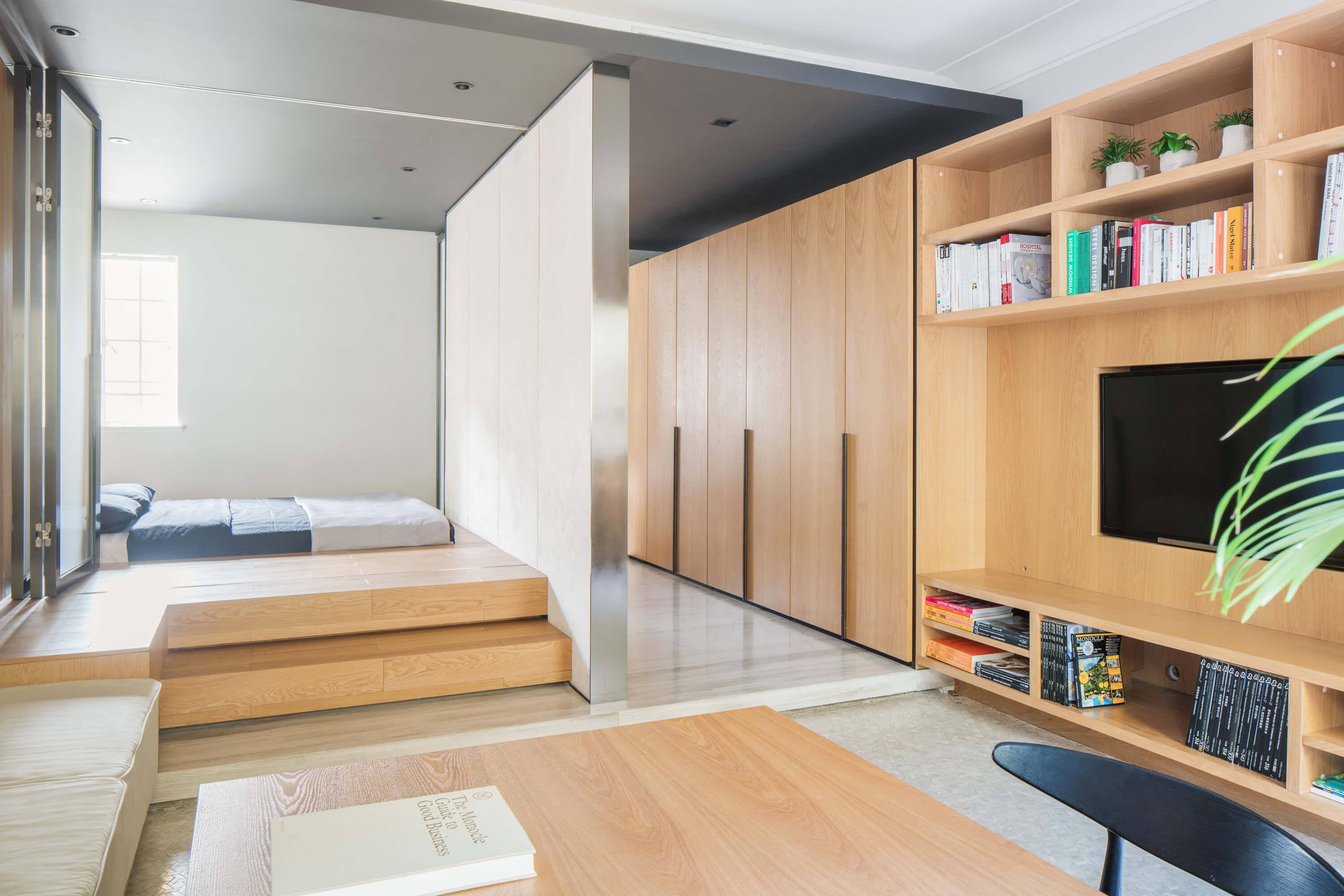 Фото как сделать маленькую квартиру большой